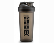 BETTER BODIES FITNESS SHAKER MEZCLADOR 600ML BLACK